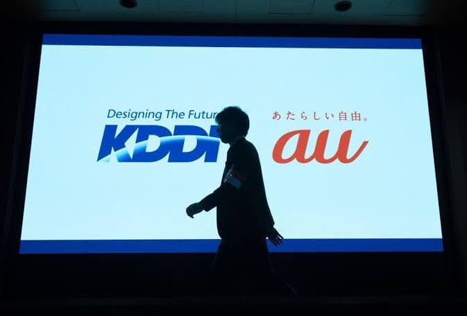 KDDI株価