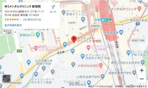 ゆうメンタルクリニック秋葉原院地図